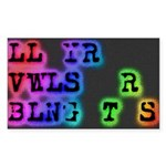 LL YR VWLS sticker