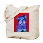 Dog Art Tote Bag