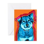 Art Dog Greeting Cards (6)