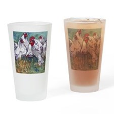 chickens come home to roost Drinking Glass