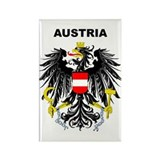Austria Rectangle Magnet