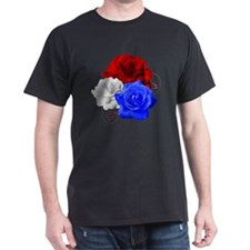 Patriotic Flowers T-Shirt