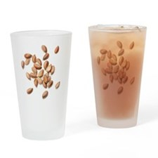 Flax seeds Drinking Glass