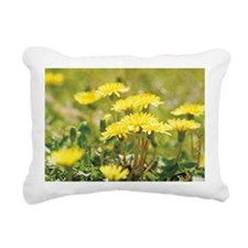 Dandelion Rectangular Canvas Pillow