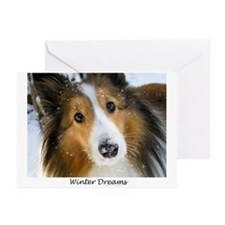 Winter Dreams Greeting Cards