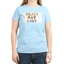 Crazy Cat Lady!! Women's Pink T-Shirt