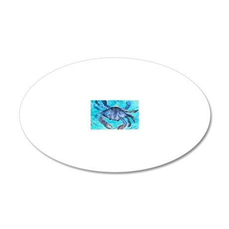 Blue Crab Wall Decal