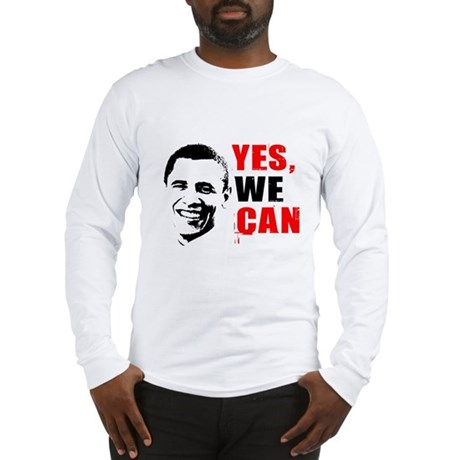 Obama Yes, We Can Long Sleeve T-Shirt