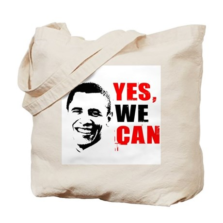 Obama Yes, We Can Tote Bag