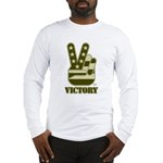 Victory Sign Long Sleeve T-Shirt