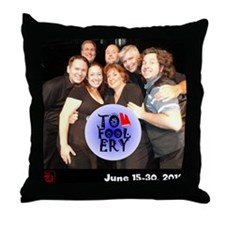 Tomfoolery Cast Tote Bag Throw Pillow