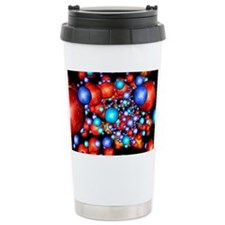 DNA molecule, conceptual artwor Ceramic Travel Mug