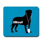 iWoof Bullmastiff Mousepad