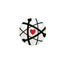 For the Love of Science Mini Button