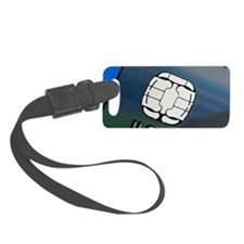 Credit card microchip Luggage Tag