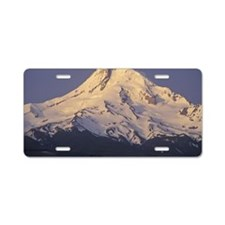 Mount Hood, Oregon, USA Aluminum License Plate