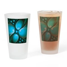 Computer-generated Julia fractal Drinking Glass