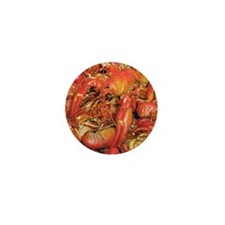Cooked crayfish Mini Button