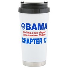 Obama Chapter 13 Ceramic Travel Mug