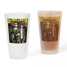 Hank and Johnny - The Black Earth Drinking Glass
