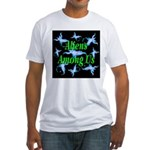 Aliens Among Us Fitted T-Shirt
