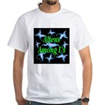 Aliens Among Us White T-Shirt