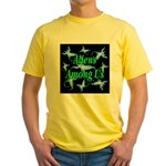 Aliens Among Us Yellow T-Shirt