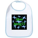 Aliens Among Us Bib