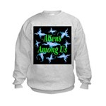 Aliens Among Us Kids Sweatshirt