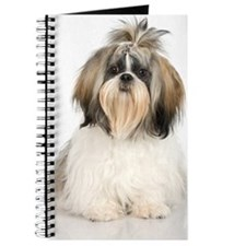 Studio portrait of Shih Tzu dog Journal