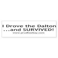 Dalton Bumper Bumper Sticker
