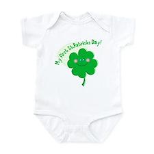 1st St. Pat's Shamrock Infant Bodysuit