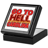 Go To Hell Carolina Keepsake Box