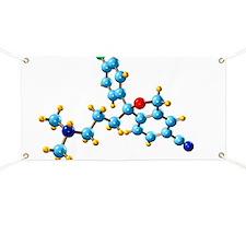 Citalopram antidepressant molecule Banner