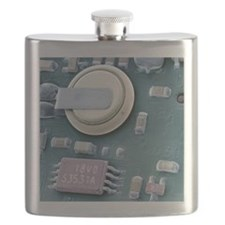 Circuit board battery, SEM Flask