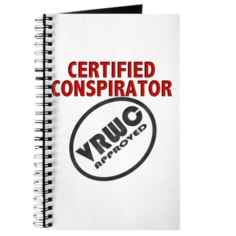 &quot;Certified&quot; Conspirator Journal