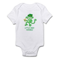 Little Irish Monkey Infant Bodysuit