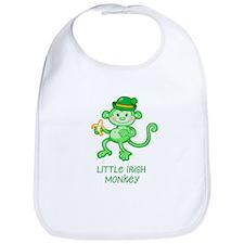 Little Irish Monkey Bib