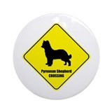 Shepherd Crossing Ornament (Round)