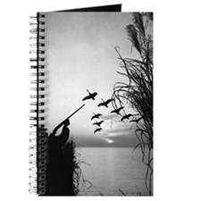Man duck-hunting Journal