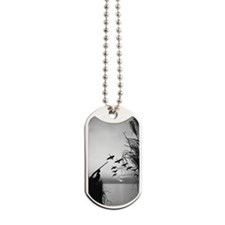 Man duck-hunting Dog Tags
