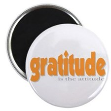 Gratitude is the Attitude Magnet