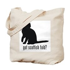 Scottish Fold Tote Bag