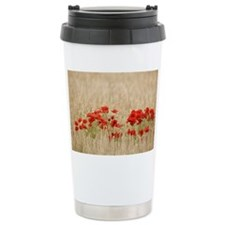Poppies growing wild Ceramic Travel Mug