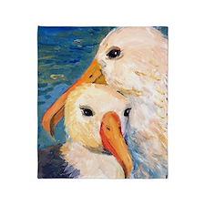 Seagulls Bathroom Throw Blanket
