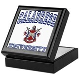 CALABRESE University Keepsake Box