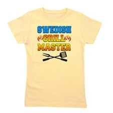 Swedish Grill Master Apron Girl's Tee