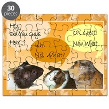 Piggy Greeting Card Puzzle