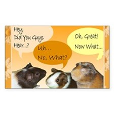 Piggy Greeting Card Decal