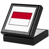 Indonesian Flag - Indonesia Keepsake Box